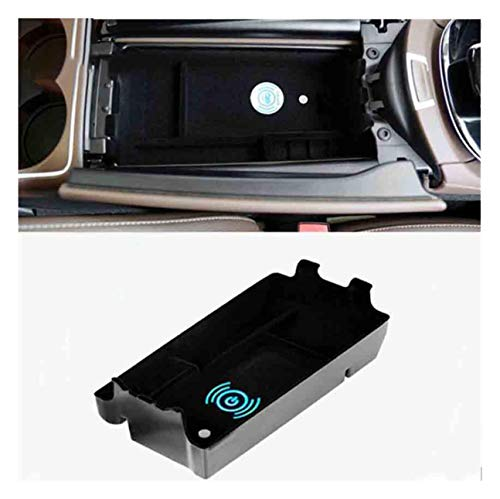 Mobile Phone Wireless Charging Central Armrest Storage Box car Accessories with S10+ S10e S9 Note 9, Xs Max XR X 8 Plus for Mercedes Benz E W213 E200 E300 2017 2018
