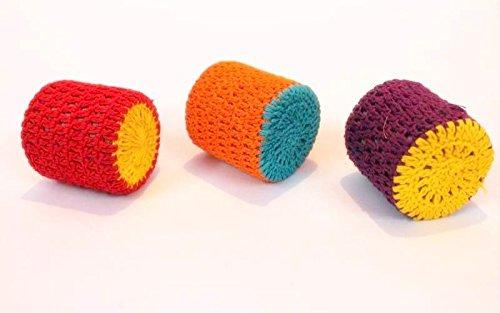 Handmade Crochet-Art Arbeit Papier Gewichte Cube Papier Gewichte (Set von 3) von Frauen Selbst helfen Gruppen B075LK8J79 | Gute Qualität