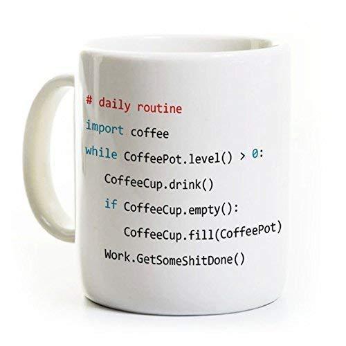 Python Coffee Mug - Programmer Ceramic Mug