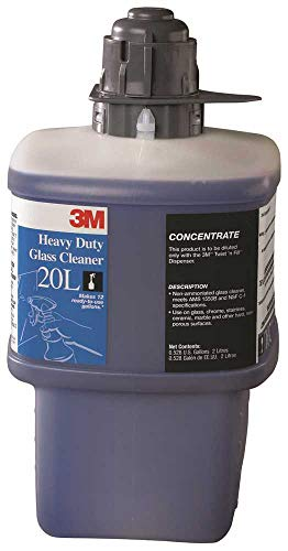 - 3M 20L Heavy-Duty Glass Cleaner Concentrate, 2 Liters