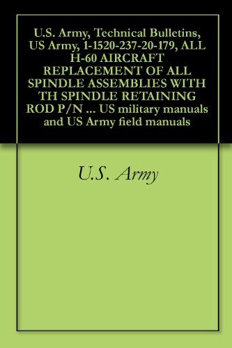 U.S. Army, Technical Bulletins, US Army, 1-1520-237-20-179, ALL H-60 AIRCRAFT REPLACEMENT OF ALL SPINDLE ASSEMBLIES WITH TH SPINDLE RETAINING ROD P/N 70102-08102-102/103, ... military manuals and US Army field - Retaining Assembly