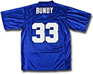 nobrand Qimei Men's AI Bundy #33 Polk High Football Movie Jersey S