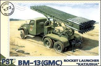 Amazon com: 1/72 Rocket Launcher BM12 Katyusha on GMC