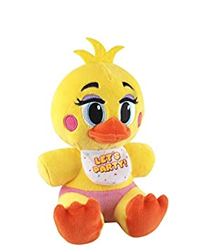 Funko Five Nights at Freddys Toy Chica Plush, 6inch