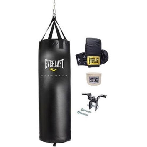 everlast-70-lb-heavy-bag-kit-w-gloves-wraps-boxing-mma-punching-training-new