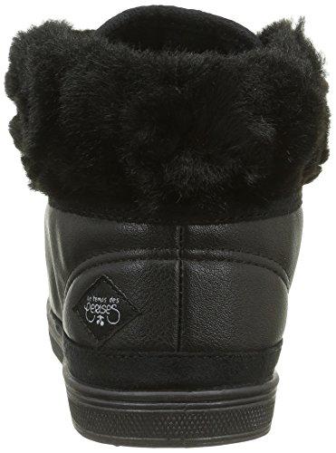 Le Temps des CerisesBasic 03 - Zapatillas Altas Mujer Negro - Noir (Fur Black)