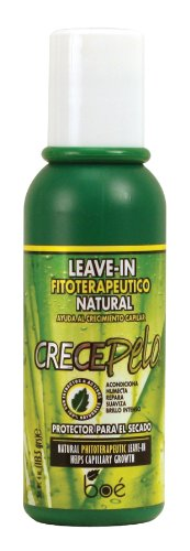 Crece Pelo Natural Phitoterapeutic Leave-In 4 oz. (Pack of 2)