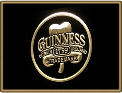 NEW GUINNESS 1759 3D carved Beer Bar Real Glass Neon Light Sign Free Shipping