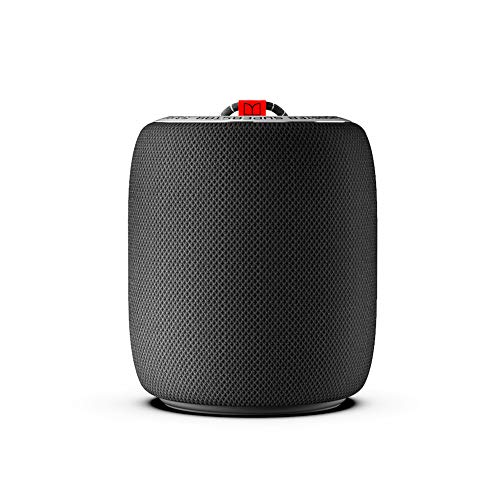 Monster S110 Portable Bluetooth Speakers with Passive Bass Radiator & TWS Function Deliver Deep Bass & Clear Stereo Sound, Compact Size & IPX5 Capability Suitable for Indoor or Outdoor, Black