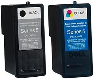 1 x Set remanufacturado tinta For DELL All In One 922 impresora DELL All In One 922, 924, 942, 942 Photo, 944, 946, 962, 964 impresora, DELL 5