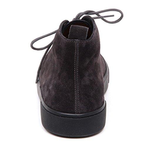 Tods E3066 Polacchino Uomo Grey POLACCO Cassetta Fashion Scarpe Boot Shoe Man Grigio scuro