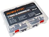 POWERTEC 71127 Jig and Fixture T-Track Hardware Kit