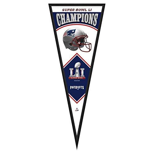 Super Bowl Frame - Photo File NFL New England Patriots Super Bowl 51 Champions Pennant Frame, 13