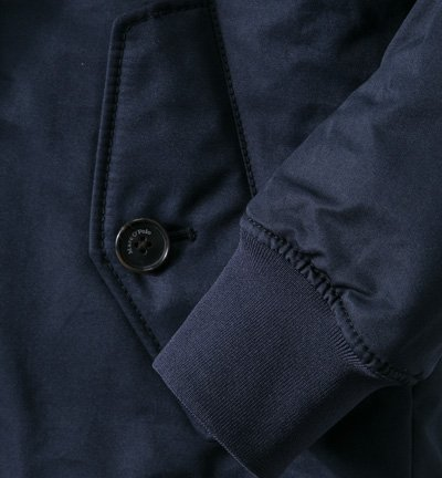 Marc O'Polo Herren Jacke Jack Mikrofaser modisches Langarmoberteil Unifarben, Größe: XXL, Farbe: Blau