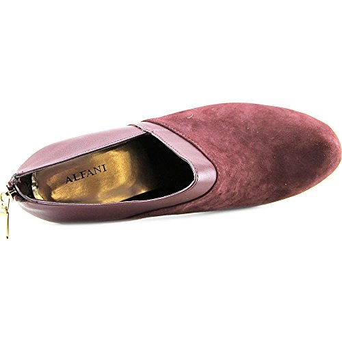 Alfani Peruva Skinn Ankel Boot Red