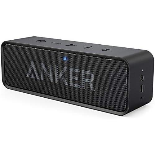 chollos oferta descuentos barato Soundcore de Anker Altavoces Bluetooth 24 horas de reproducción alcance de Bluetooth de 20 metros y micrófono integrado Altavoz inalámbrico portátil ideal para iPhone Samsung y más
