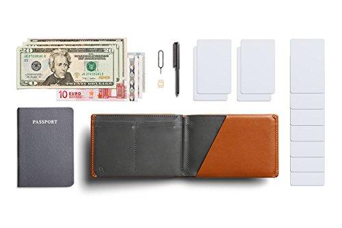 Bellroy Travel Wallet (Slim Leather Passport Wallet, RFID Blocking, Organizes Travel Documents, Cash & Tickets, Holds 4…