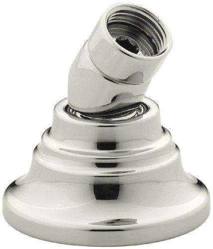 (Kohler K10573SN Bancroft Deck-Mount Handshower Holder, Vibrant Polished Nickel)