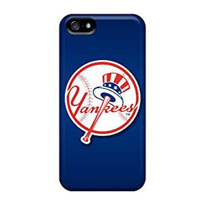 Durable New York Yankees Back Cases/covers For Iphone 5/5s