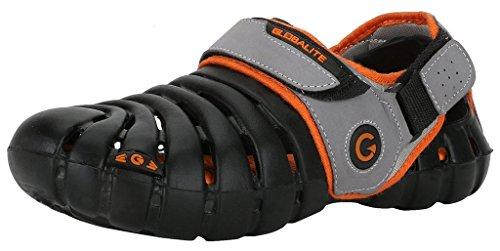 Globalite Men's Sandals Parko IV Black Orange GEC0201N
