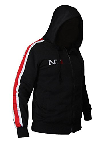 Fly Costume Men's Jacket Coat Outwear Cosplay Costume Hoodie (L) (The Fly Costume)