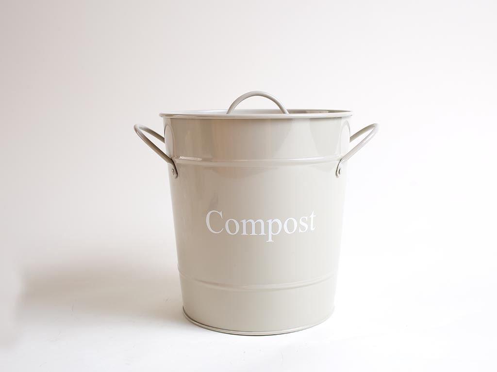 """Kompost-Tonne in Kieselfarbe von """"Dill and Mint"""""""