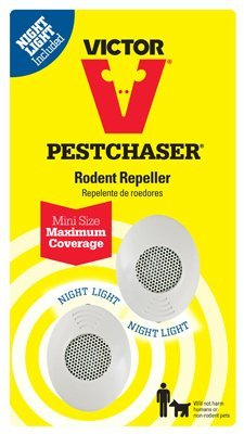(Victor Mini PestChaser Ultrasonic Rodent Repellent 2-Pack)