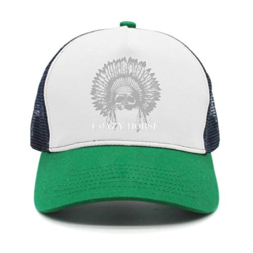 Men Women Black-Label-Society-Skull-Feather- Plain Baseball Cap Adjustable Unisex Visor Hat