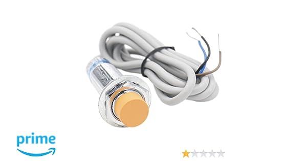 heschen Sensor de proximidad inductivos interruptor LJ18 A3 - 8-Z/AY detector de 8 mm 6 - 36 VDC 300 mA PNP Normalmente cerrado (NC) 3 alambre: Amazon.es: ...