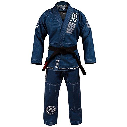 Hayabusa Goorudo 3.0 Gold Weave Brazilian Jiu Jitsu Gi (Blue, A3)