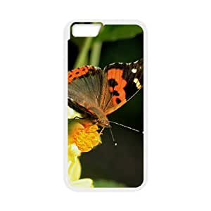 """SYYCH Phone case Of Butterfly Flowers 2 Cover Case For iPhone 6 (4.7"""")"""