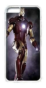 IPhone 6 Plus Case, IPhone 6 Plus Cases Hard Case Iron Man 5 Case For IPhone 6 Plus, IPhone 6 Plus PC Transparent Case
