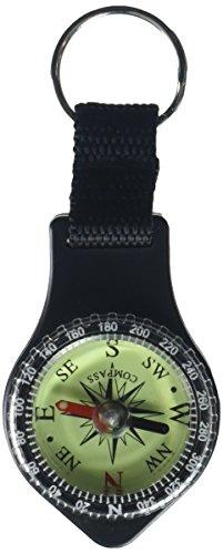 SE CC283-48 Liquid Filled Ball Compass Keychains (48 Piece)