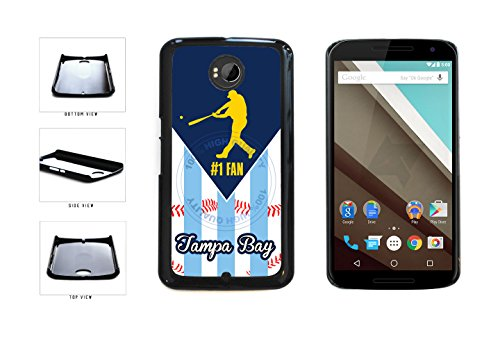 Tampa Bay Baseball Number One Fan Plastic Phone Case Back Cover For LG Google Nexus 6 D821 comes with Security Tag and MyPhone Designs(TM) Cleaning Cloth