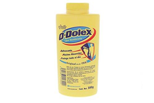 300 Grams Original Powder (Odolex Original Scent Deodorizing Powder 300g - Talco Desodorante Olor Original (Pack of 2))