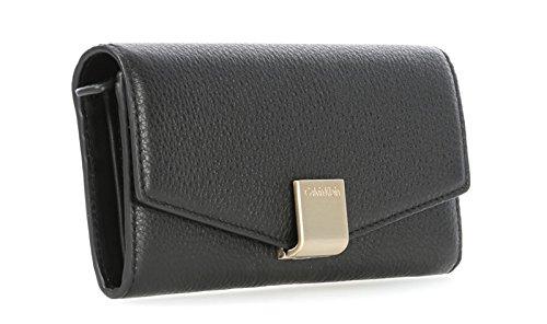 Cartera Calvin Klein Kate Large Trifold Black K60K600392001 ...