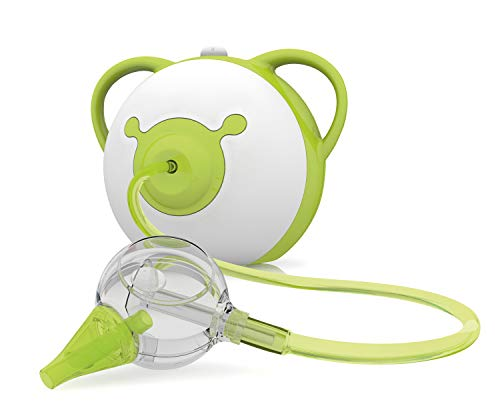 Nosiboo Pro Nasal Aspirator (110 V) - A Baby Snot Sucker with Adjustable Suction...