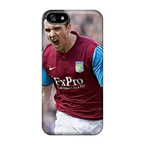 Brand New 5/5s Defender Case For Iphone (the Famous Club Aston Villa)