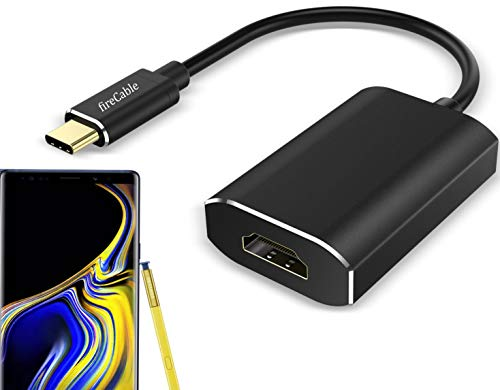 fireCable Galaxy Note 9 USB-C to HDMI Adapter (Connects Your Note9 to Monitor/TV - Activates Full DeX Mode Desktop Experience) by fireCable