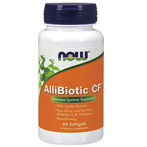 NOW AlliBiotic Non-Drowsy CF,60 Softgels