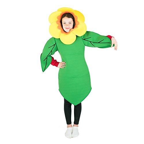 Bodysocks Kids Flower Fancy Dress Costume