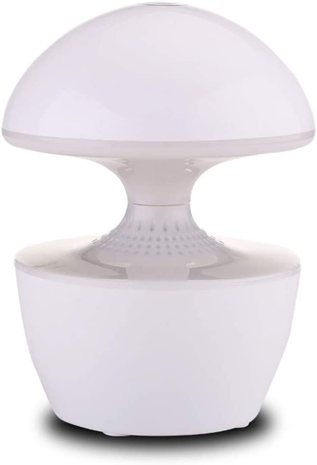 Night Light Bluetooth Speaker,Portable Bluetooth Speaker for iPhone iPod and Android System White