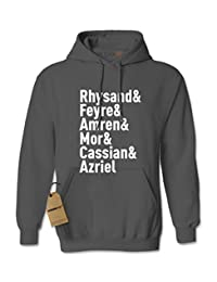 Expression Tees The Night Court Squad Unisex Adult Hoodie