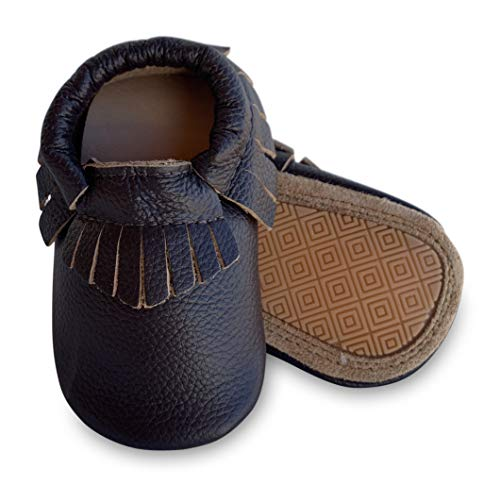- Lucky Love Baby Moccasins • Premium Leather • Infant, Baby & Toddler Shoes for Girls and Boys