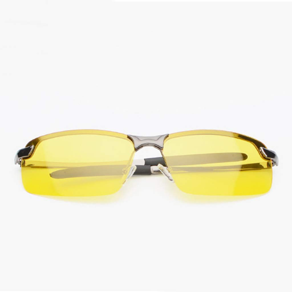 Driving Sunglasses GorNorriss Unisex Fashion Night Driving Glasses Vision Anti Glare Drivers Polarized UV400 Fit Over