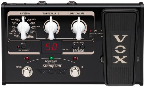 VOX STOMPLAB2G Modeling Guitar Multi-Effects Pedal (20 Guitar Effects)
