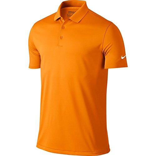 Nike Golf Victory Solid Polo (Bright Ceramic/White) (Small)