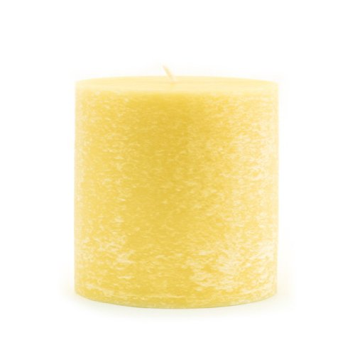 Yellow Daffodils - Root Legacy Scented Timberline Pillar Candle, 3 by 3-Inch, Delightful Daffodil