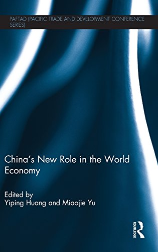 China's New Role in the World Economy (PAFTAD (Pacific Trade and Development Conference Series)) (Role Of Foreign Capital In Economic Development)