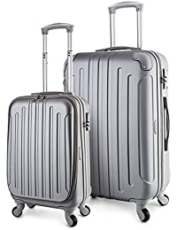 Victoria Luggage 2 Piece Lightweight Spinner Set